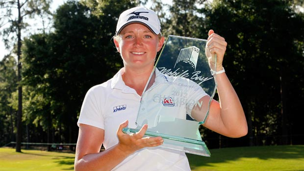 143576361 Stacy Lewis during the final round of the Mobile Bay LPGA Classic