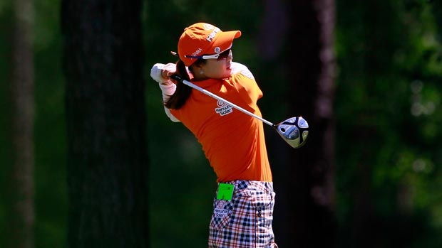 So Yeon Ryu during the final round of the Mobile Bay LPGA Classic