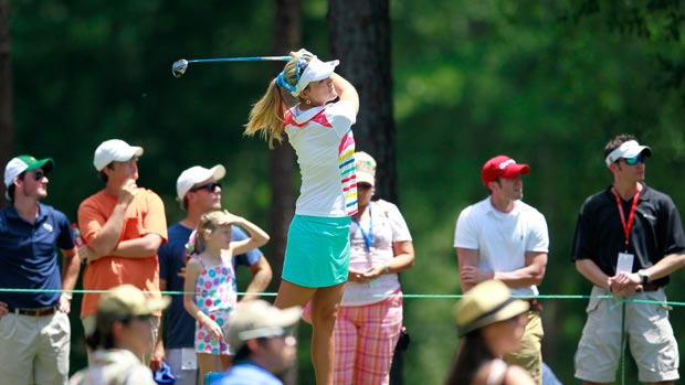 Lexi Thompson during the final round of the Mobile Bay LPGA Classic