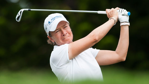 Catriona Matthew during the Third Round of the 2012 Sunrise LPGA Championship presented by Audi