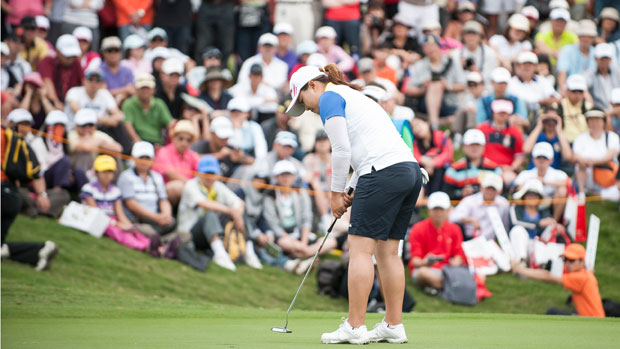 Inbee Park during the Third Round of the 2012 Sunrise LPGA Championship presented by Audi