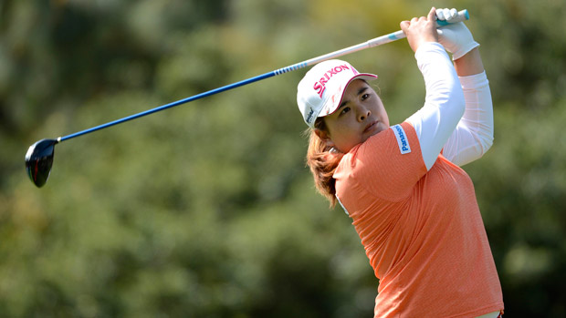 Inbee Park during the second round of the Kia Classic