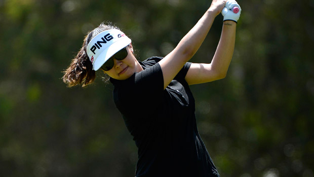 Jane Park during the second round of the Kia Classic