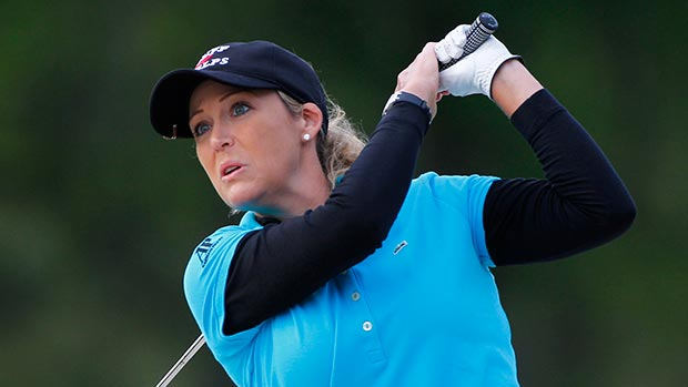 Cristie Kerr during the second round of the Kingsmill Championship