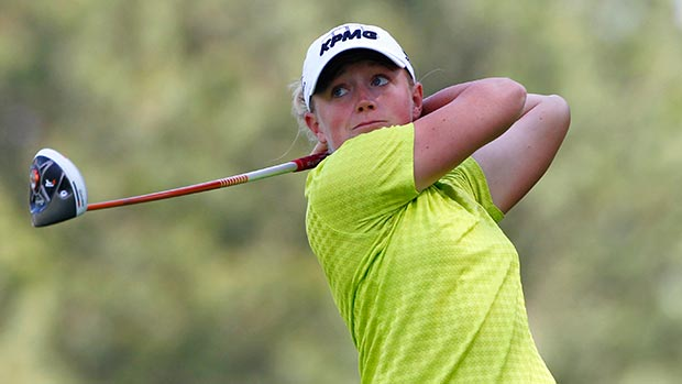 Stacy Lewis during the second round of the Kingsmill Championship