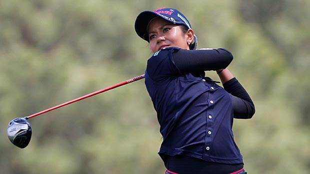 Ai Miyazato during the second round of the Kingsmill Championship