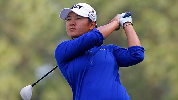 Yani Tseng during the second round of the Kingsmill Championship