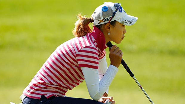 Momoko Ueda during the second round of the Kingsmill Championship