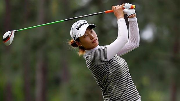 Chella Choi during the second round of the Mobile Bay LPGA Classic