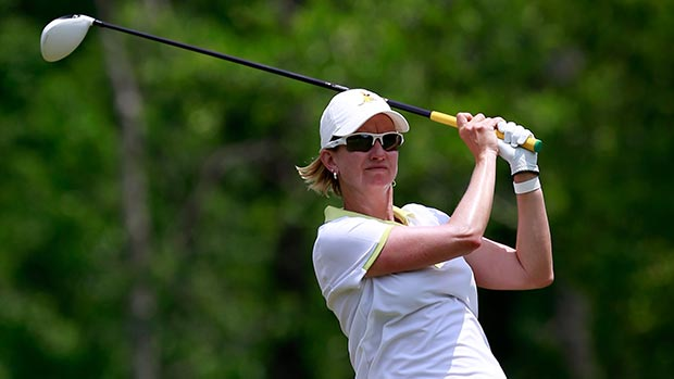 Karrie Webb during the second round of the Mobile Bay LPGA Classic