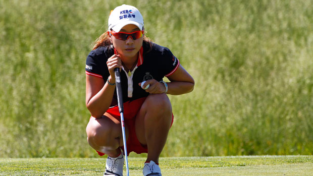 Hee Young Park during the second round of the 2013 ShopRite LPGA Classic Presented by Acer