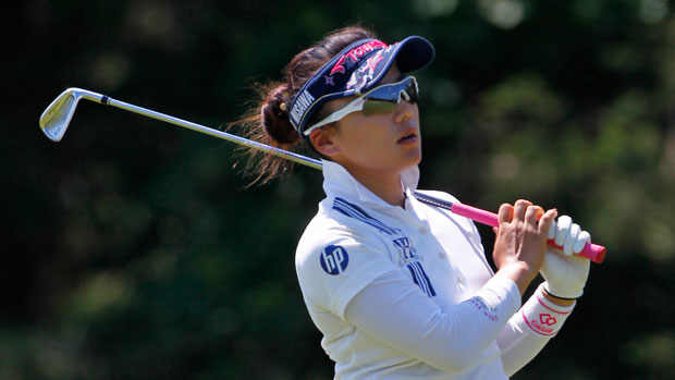 Chie Arimura during the second round of the 2013 ShopRite LPGA Classic Presented by Acer