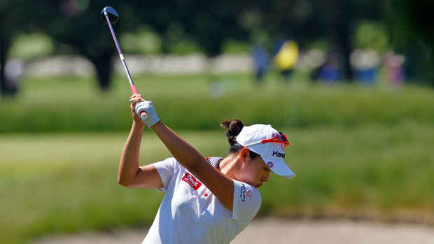 Haeji Kang during the second round of the 2013 ShopRite LPGA Classic Presented by Acer
