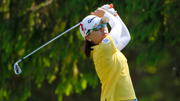 Mika Miyazato during the second round of the 2013 ShopRite LPGA Classic Presented by Acer