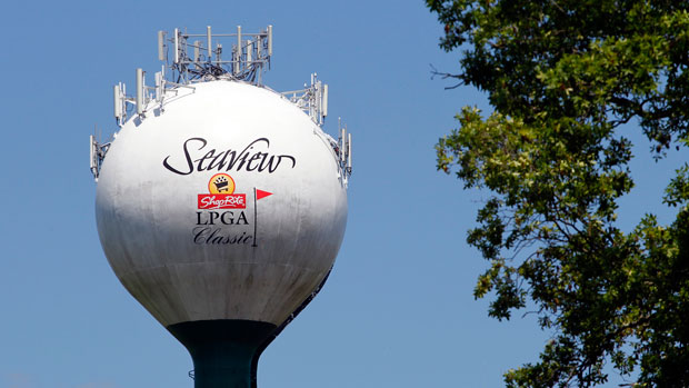 Seaview tower during the second round of the 2013 ShopRite LPGA Classic Presented by Acer