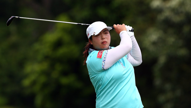 Shanshan Feng during the 2013 Sime Darby LPGA Malaysia Final Round