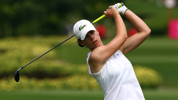 Karine Icher during the 2013 Sime Darby LPGA Malaysia Final Round