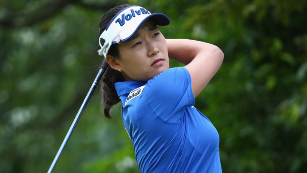 Ilhee Lee during the 2013 Sime Darby LPGA Malaysia Final Round