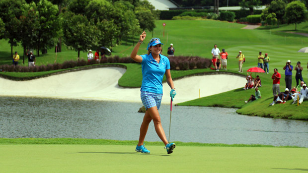 Lexi Thompson during the 2013 Sime Darby LPGA Malaysia Final Round