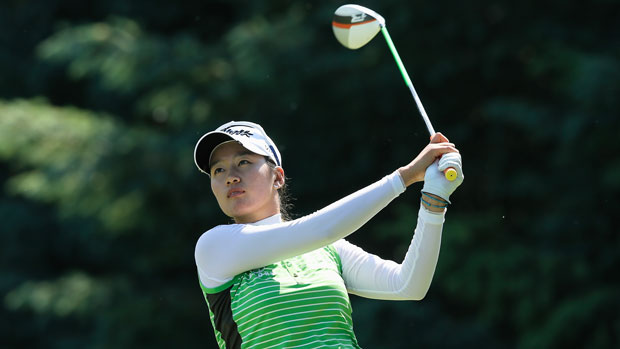 Chella Choi during the final round of the 2013 Wegmans LPGA Championship