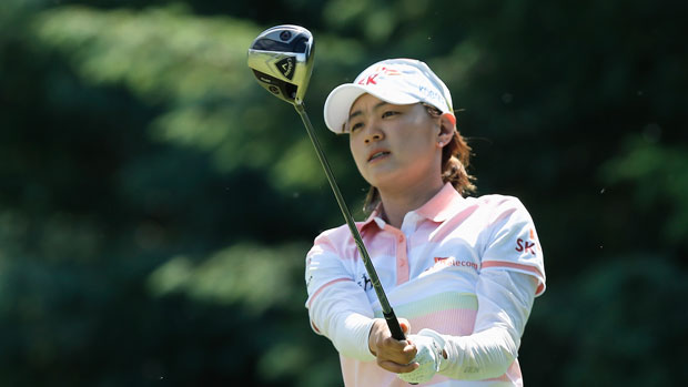 Na Yeon Choi during the final round of the 2013 Wegmans LPGA Championship