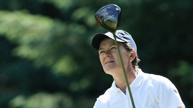 Catriona Matthew during the final round of the 2013 Wegmans LPGA Championship