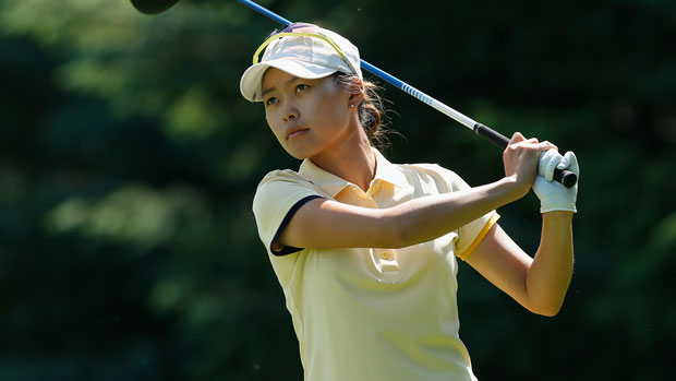 Sun Young Yoo during the final round of the 2013 Wegmans LPGA Championship