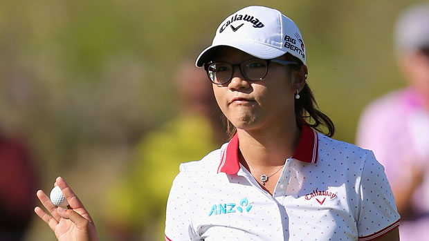 Lydia Ko during the third round of the 2014 JTBC Founders Cup