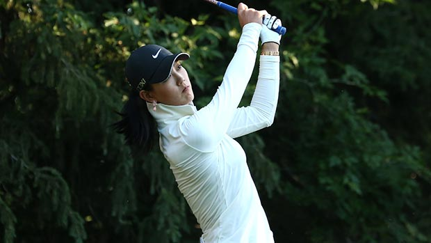 Michelle Wie during the second round of the 2013 CN Canadian Women's Open