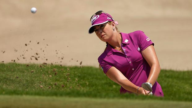 Paula Creamer during the second round of the HSBC Women's Champions 2013