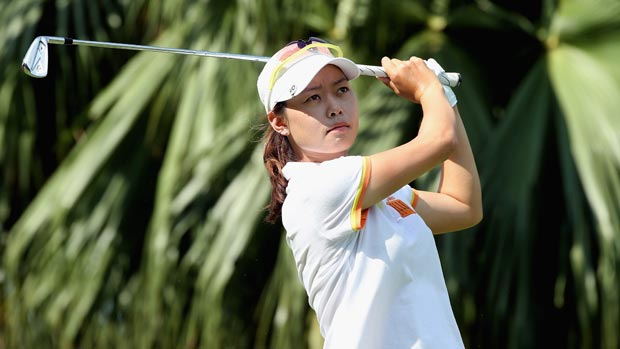 Sun Young Yoo during the second round of the HSBC Women's Champions 2013