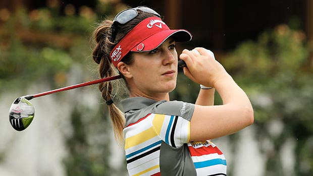 Sandra Gal during the second round of the Lorena Ochoa Invitational Presented by Banamex