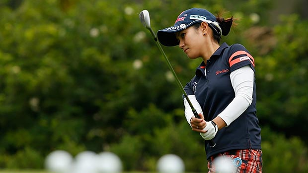 Ai Miyazato during the second round of the Lorena Ochoa Invitational Presented by Banamex