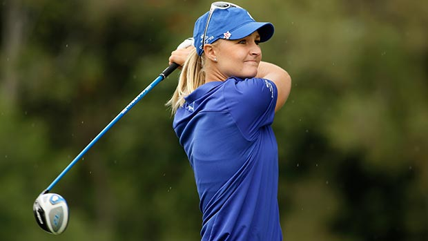 Anna Nordqvist during the second round of the Lorena Ochoa Invitational Presented by Banamex