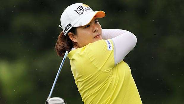 Inbee Park during the second round of the Lorena Ochoa Invitational Presented by Banamex