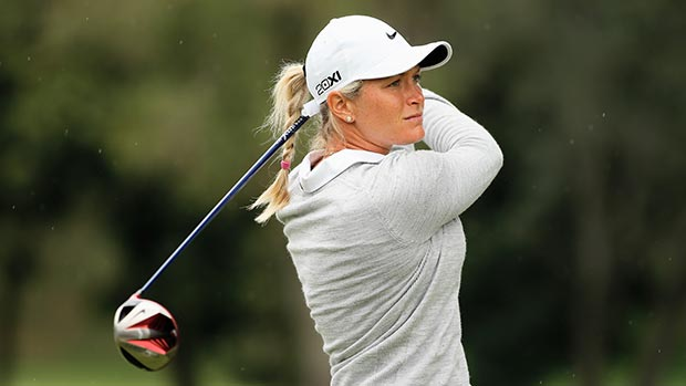 Suzann Pettersen during the second round of the Lorena Ochoa Invitational Presented by Banamex
