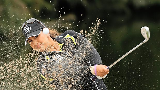 Lizette Salas during the second round of the Lorena Ochoa Invitational Presented by Banamex