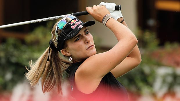 Lexi Thompson during the second round of the Lorena Ochoa Invitational Presented by Banamex
