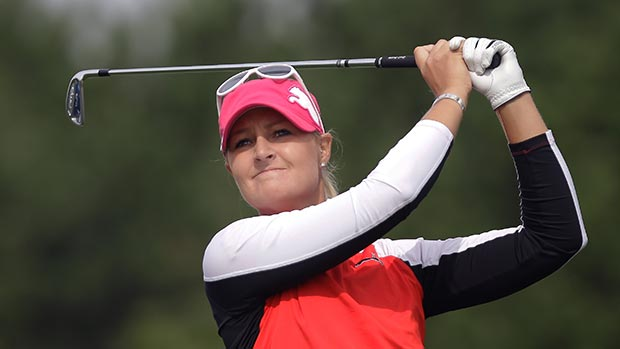 Anna Nordqvist during the second round of LPGA KEB • HanaBank Championship