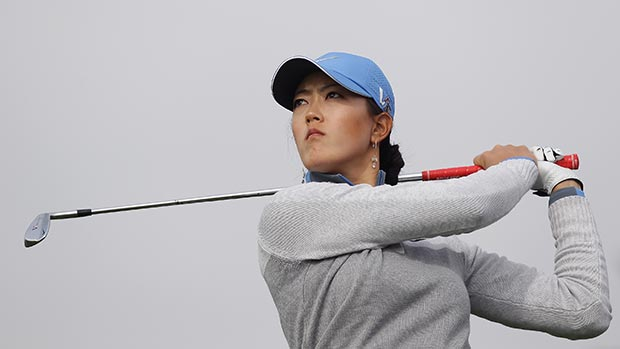 Michelle Wie during the second round of LPGA KEB • HanaBank Championship