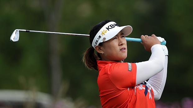 Amy Yang during the second round of LPGA KEB • HanaBank Championship