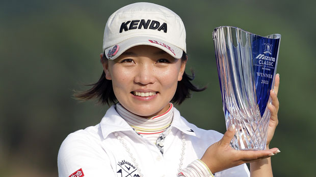 Teresa Lu win the 2013 Mizuno Classic
