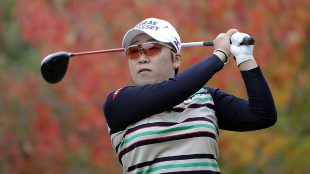 Jiyai Shin during the 2013 Mizuno Classic