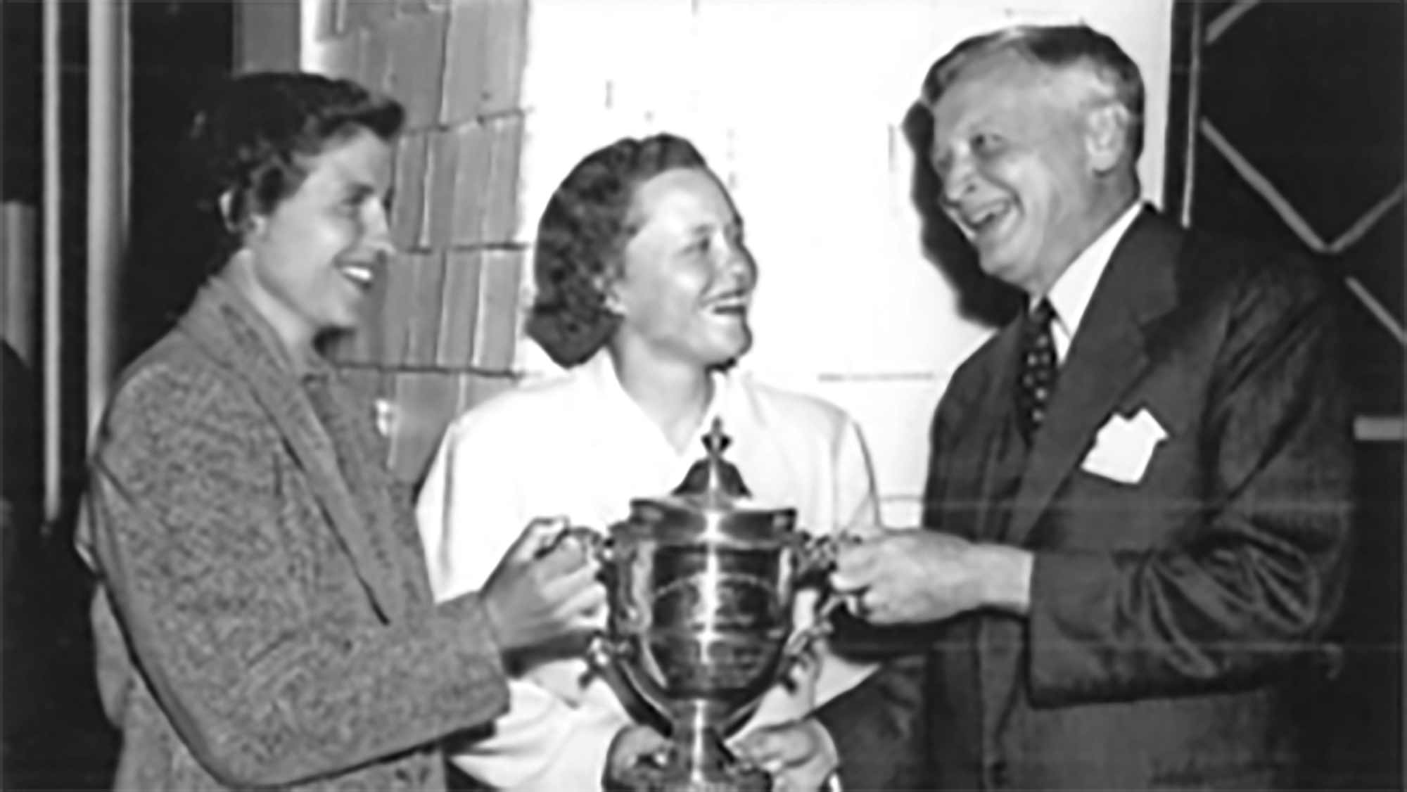 Patricia O'Sullivan Lucey won the 1951 Titleholders and was one of only five amateurs to win on the LPGA Tour