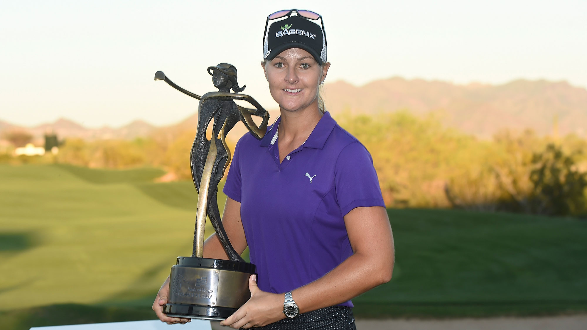 Image result for Anna Nordqvist wins Bank of Hope Founders Cup