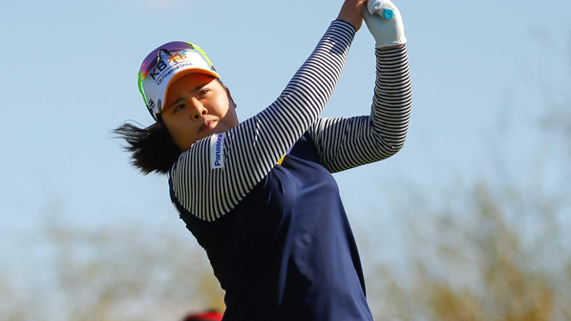 Inbee Park Has Solo Lead After 63 on Saturday