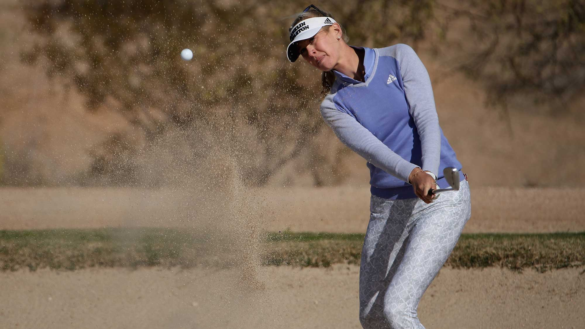 Jessica Korda Bunker Shot on Sunday at Founders Cup