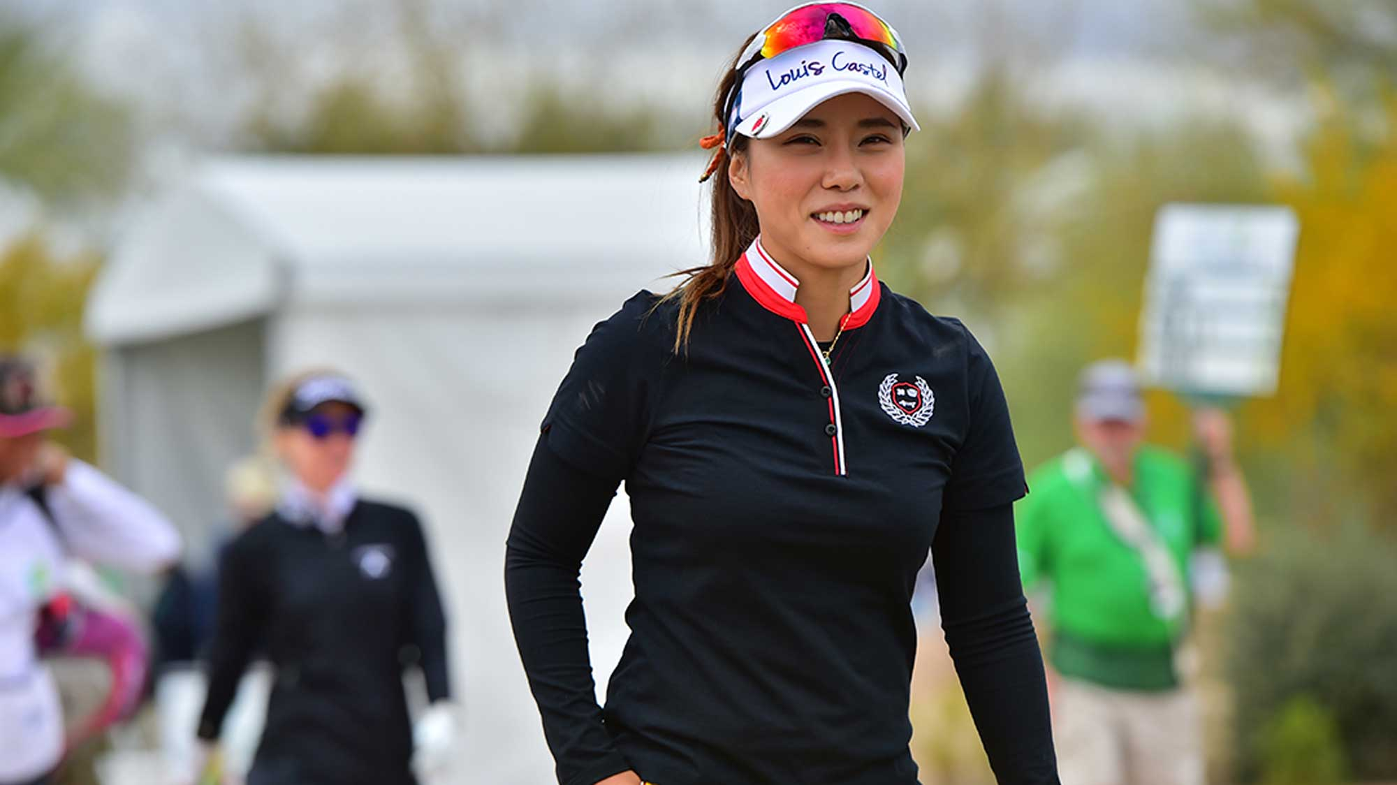 Hee Young Park Smile at Founders Cup