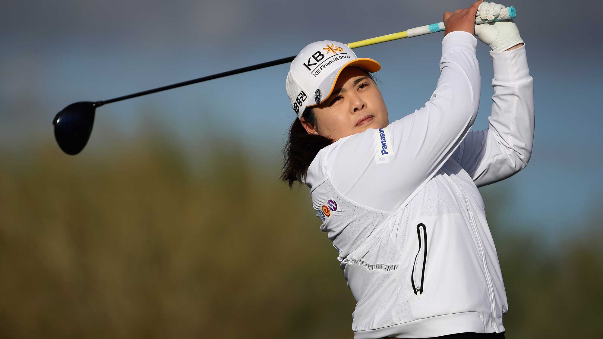 Inbee Park Swings in Round One of Founders Cup