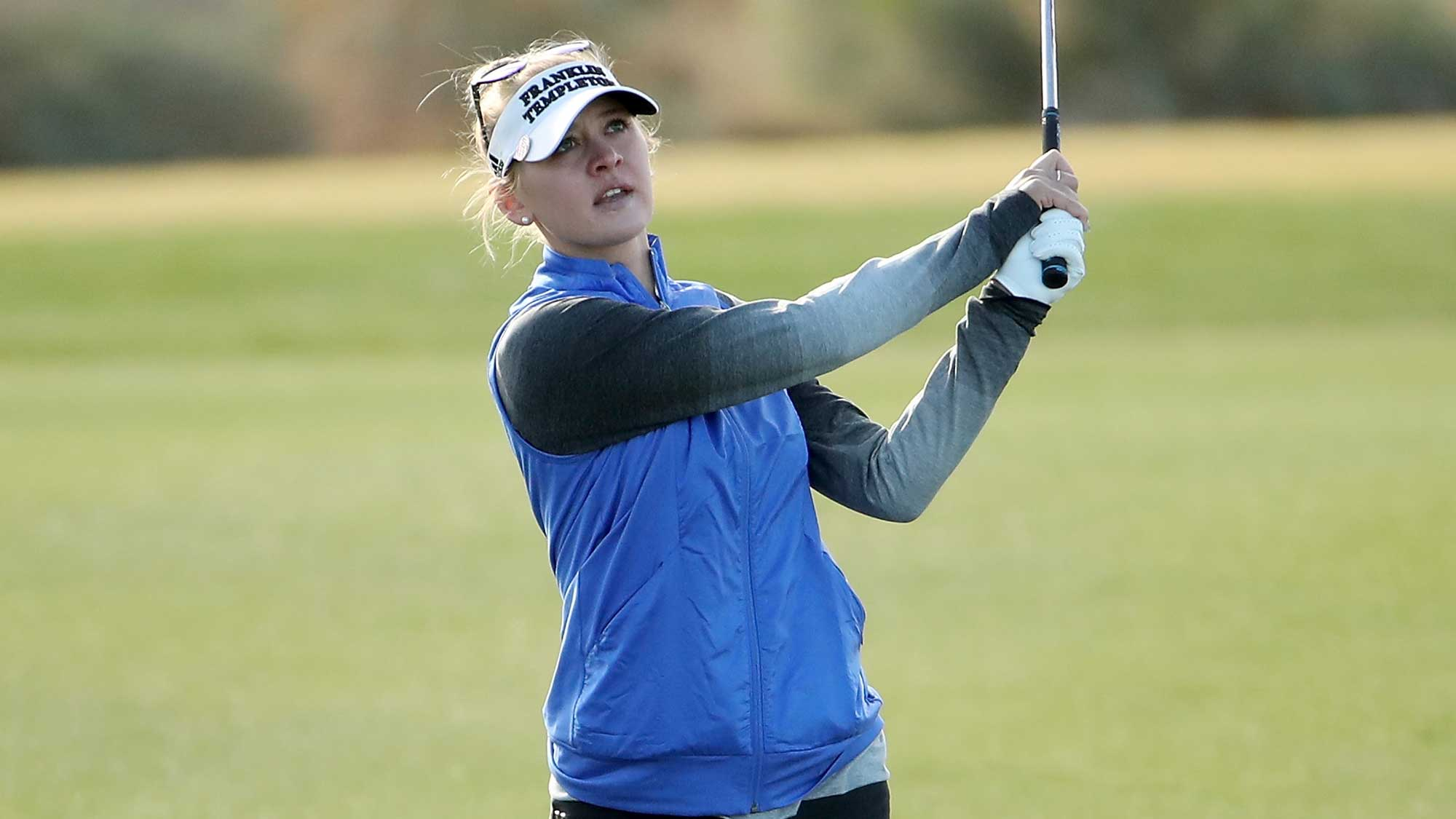 Jessica Korda Cards a 69 in Round One of Founders Cup